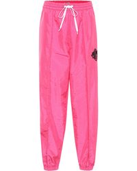Miu Miu Bedruckte Jogginghose - Pink
