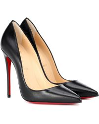 Christian Louboutin Escarpins en cuir So Kate 120 - Noir