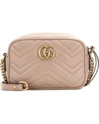 Gucci Gg Marmont Matelassé Mini Bag - Multicolour