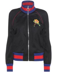 Gucci - Embroidered Bomber Jacket - Lyst