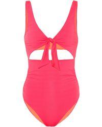 Stella McCartney Cut-out Swimsuit - Pink