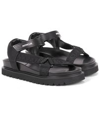 Moncler Flavia Trekking Sandals - Black