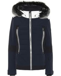Toni Sailer Manou Fur-trimmed Ski Jacket - Blue
