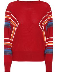 Marni Wool-blend Sweater - Red