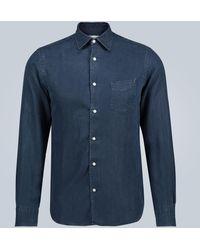 Officine Generale Benoit Regular-fit Shirt - Blue