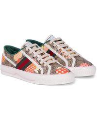 Gucci Les Pommes Sneaker Tennis 1977 - Natur