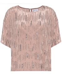Velvet Jonelle Embellished Top - Pink