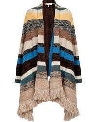 Dorothee Schumacher Blanket Attitude Wool, Cotton And Cashmere Shawl - Multicolour