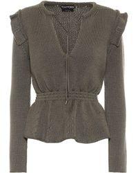 Tom Ford Jersey de lana - Verde