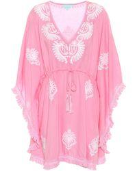Melissa Odabash Exclusive To Mytheresa – Irene Mini Kaftan - Pink
