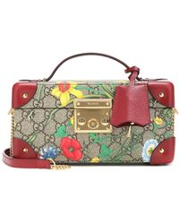Gucci Portagioie Padlock GG Flora - Multicolore