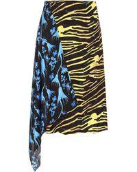 Marine Serre Flou Skirt - Multicolour
