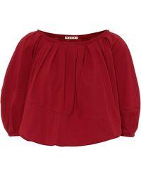 Marni Top aus Baumwolle - Rot