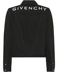 Givenchy Chaqueta de jeans - Negro