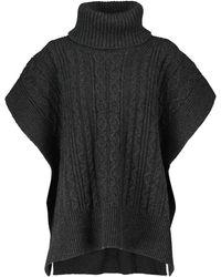 See By Chloé Jersey en mezcla de lana trenzado - Negro