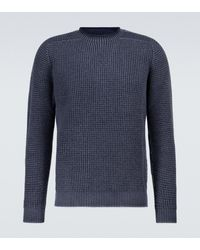 Sease Pullover Sloop aus Wolle - Blau