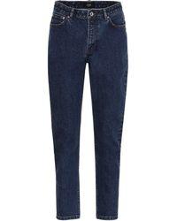 A.P.C. 80s High-rise Slim Jeans - Blue