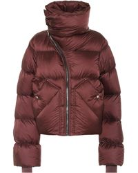 Rick Owens Mountain Duvet Puffer Jacket - Multicolor