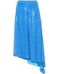 MSGM - Sequinned Skirt - Lyst