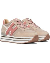 Hogan Plateau-Sneakers H468 - Natur