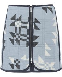 Isabel Marant | Lickly Quilted Cotton Skirt | Lyst