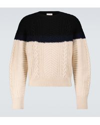 Alexander McQueen Knitted Crewneck Sweater - Black