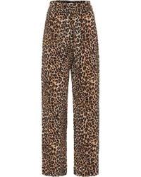 Nanushka Luma Leopard-printed Trousers - Multicolour