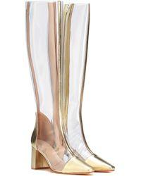 Maryam Nassir Zadeh - Jupiter Leather-trimmed Boots - Lyst