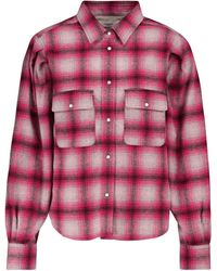 Étoile Isabel Marant Reosi Checked Flannel Shirt - Multicolor