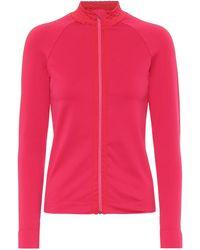 Ernest Leoty Apolline Technical-jersey Jacket - Pink