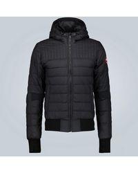 Canada Goose Cabri Hoody Down-filled Jacket - Black