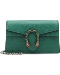 Gucci - Dionysus Leather Super Mini Bag - Lyst