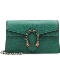 Gucci Dionysus Super Mini Crossbody Bag - Green