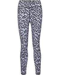 The Upside Dance Leopard-print leggings - White