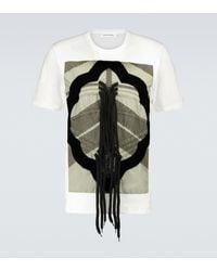 Craig Green T-Shirt Flower Diamond - Grün