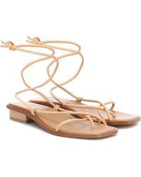 LOQ Ara Strappy Sandals - Natural