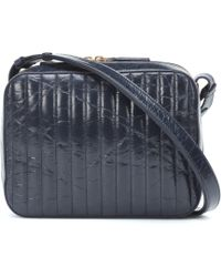 Victoria Beckham - Quilted Textured-leather Camera Bag - Lyst