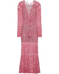 Anna Kosturova - Bianca Crocheted Cotton Dress - Lyst
