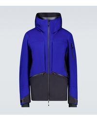 Sease Rima Wool And Nylon Jacket - Blue