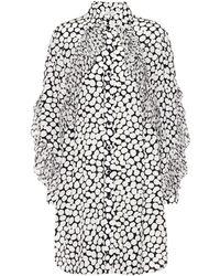 Givenchy - Printed Silk Crêpe Dress - Lyst