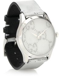 Gucci Reloj G-Timeless 38mm acero inoxidable - Metálico