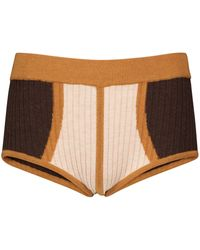Dodo Bar Or Shorts in maglia jacquard - Multicolore