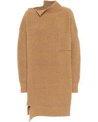 Marni Wool Sweater With Time-worn Effect Brown
