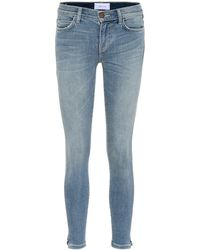 Current/Elliott Jeans skinny The Stiletto - Blu