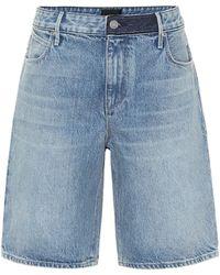 RTA Jami Denim Shorts - Blue