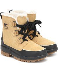 Sorel Torino Ii Suede Boots - Brown