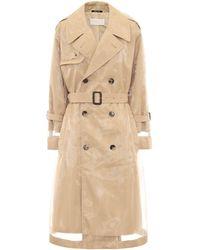 Maison Margiela - Trenchcoat aus Baumwolle - Lyst