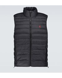 Polo Ralph Lauren Terra Nylon Vest - Black