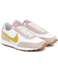 Nike Sneakers Daybreak in tessuto e suede - Rosa
