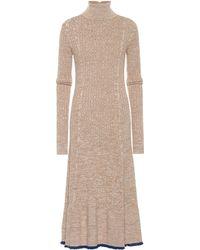 Jil Sander Wool Dress - Natural